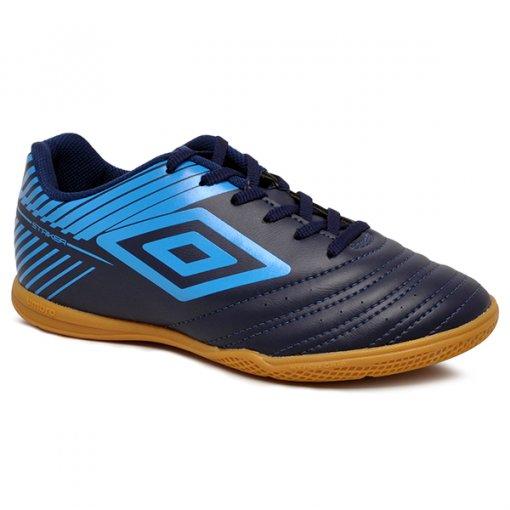 Tênis Futsal Masculino Umbro Striker V OF72124 Azul Marinho/Azul