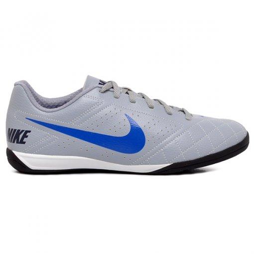Tênis Futsal Nike Beco 2 646433-005 Cinza/Azul/Branco