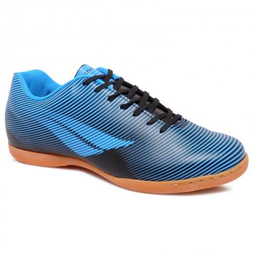 Tênis Futsal Penalty Stm Rx Furia IX 1241606600 Azul/Preto