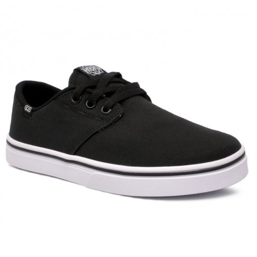 Tênis Hocks Del Mar Originals Canvas 110.001 Lona Preto/Branco