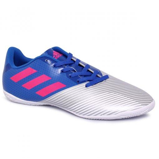 Tênis Indoor Adidas Artilheira 17 H68436 Azul/Rosa Pink