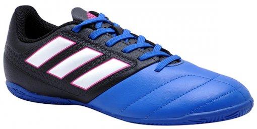 Tênis Indoor Masculino Adidas Ace 17.4 Bb1767 Preto/Branco/Azul
