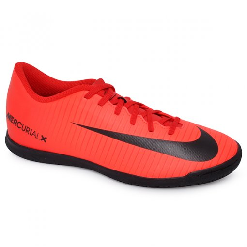 828aeb7b8cc54 Tênis Indoor Masculino Nike Mercurial Vortex 3 831970-616 Vermelho Preto
