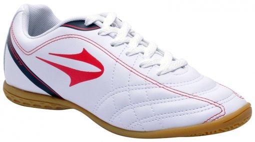 Tênis Indoor Masculino Topper Titanium 4 Branco/Vermelho/Preto