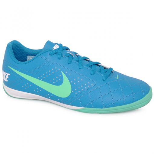 Tênis Indoor Nike Beco 2 646433-401 Azul/Verde