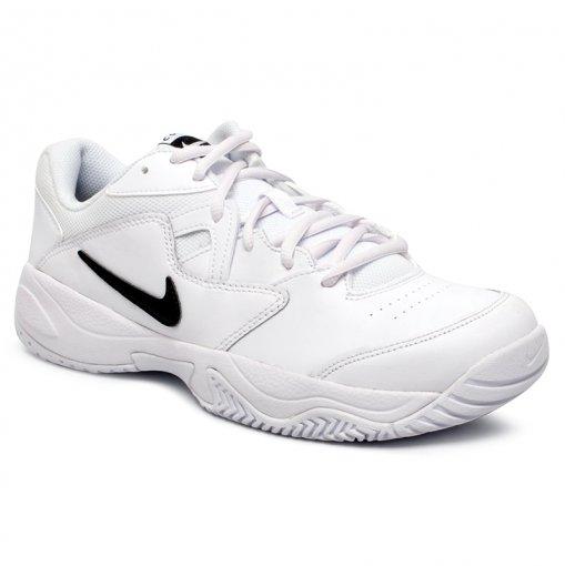 Tênis Indoor Nike Court Lite 2 AR8836-100 Branco/Preto