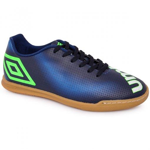 Tênis Indoor Umbro Spectrum Of72091 Azul Marinho/Azul/Verde