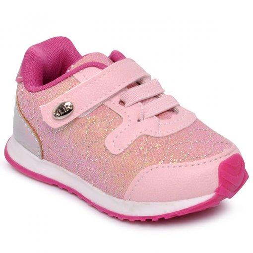 Tênis Infantil Klin 453010 Rosa Pink