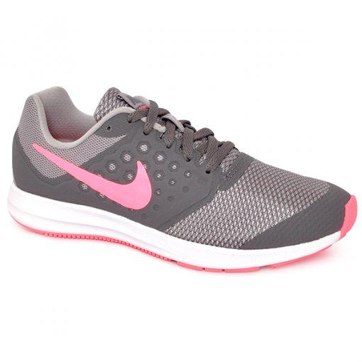 Tênis Infantil Nike Downshifter 7 869972-003 Cinza/Rosa