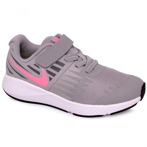 Tênis Infantil Nike Star Runner 921442-002 Cinza/Branco
