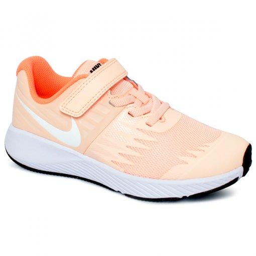 Tênis Infantil Nike Star Runner 921442-800 Rose/Branco