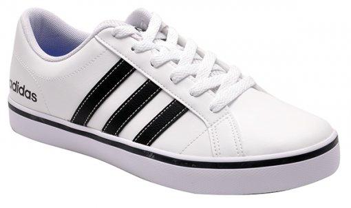 d73997ab9f3 Tênis Adidas Vs Pace Aw4594 Branco Preto
