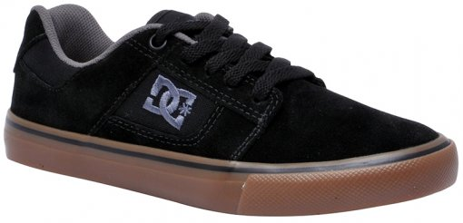 Tênis Masculino DC Shoes Bridge 320096 Black/White/Gum
