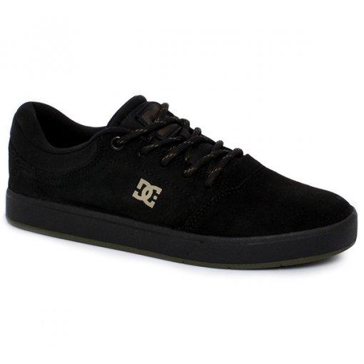 Tênis Masculino Dc Shoes Crisis Sela Adys100284l Preto/Verde