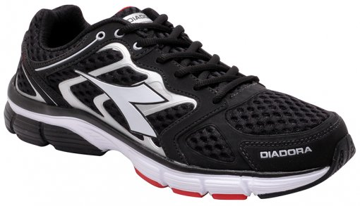 Tênis Masculino Diadora New Stratus 125700 Black/Red