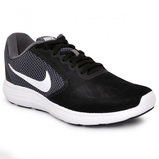 Tênis Masculino Nike Revolution 3 819300-001 Cinza/Branco/Preto