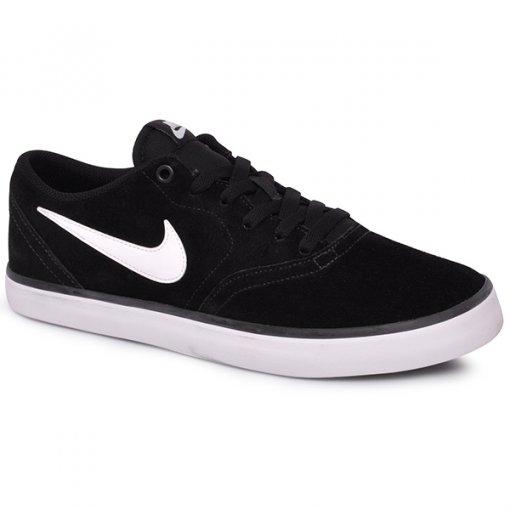 Tênis Masculino Nike Sb Check Solar 843895-001 Preto/Branco