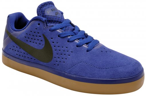 Tênis Masculino Nike Sb Paul Rodrigues 677245-402 Royal/Black
