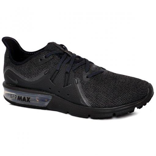 38ad667b315 Tênis Nike Air Max Sequent 3 921694-010 Preto Chumbo