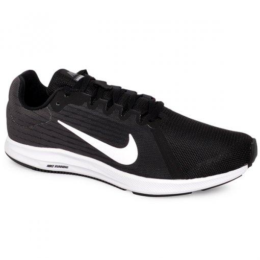 Tênis Nike Downshifter 8 908984-001 Preto/Branco