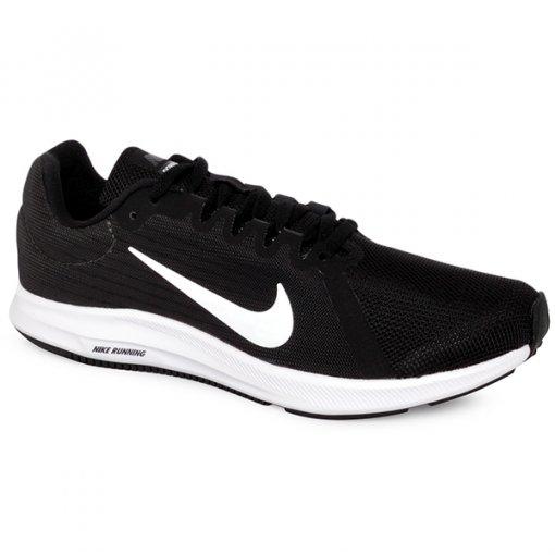 Tênis Nike Downshifter 8 908994-001 Preto Branco 34266ae107f2