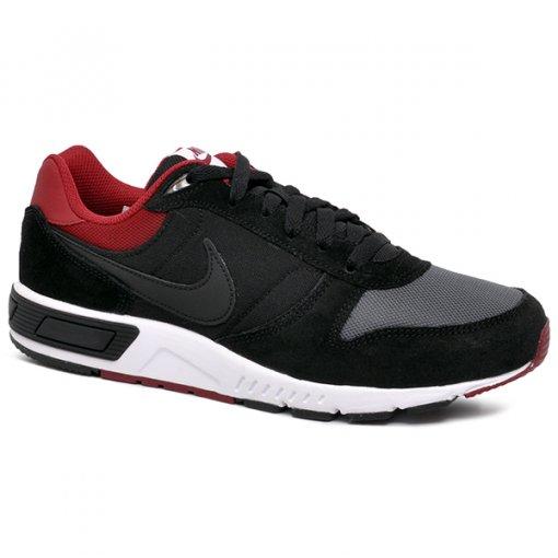 5f5452b4d8 Tênis Nike Nightgazer 644402-022 Preto Cinza Vermelho