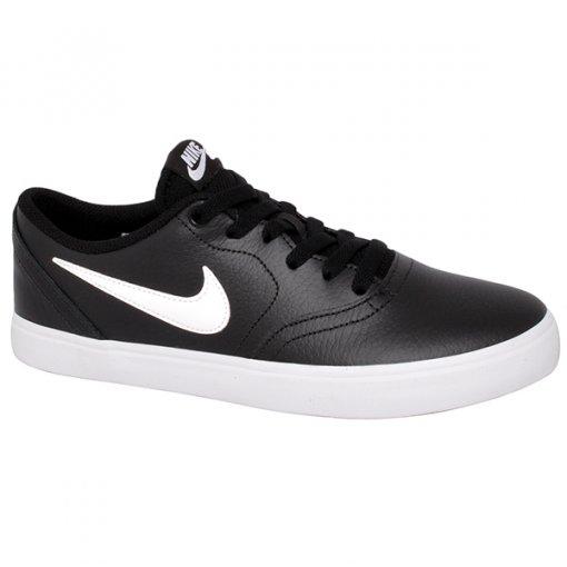 Tênis Nike Sb Check Solar 843895-006 Preto/Branco