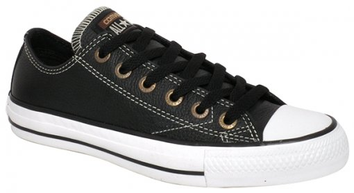 Tênis Unisex Converse Ct As European Ct00200003 Preto/Branco