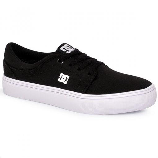Tênis Unisex Dc Shoes Trase Tx Adys300126p Preto/Branco