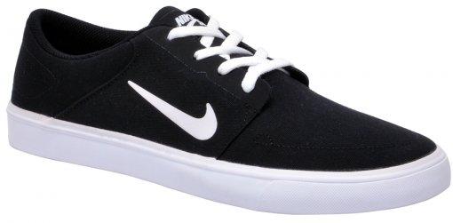 Tênis Unissex Nike SB Portmore CNVS 723874-001 Black/White