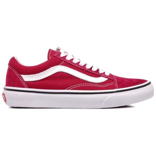 62f3c055be Tênis Vans Old Skool VNBA38G1VGA Vermelho Branco