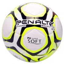 Imagem - Bola Campo Penalty Brasil 70 R3 IX 5113101810 Branco/Amarelo/Preto - 235155
