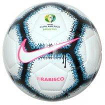 Imagem - Bola Futsal Nike Copa América SC3980-100 Branco - 239985