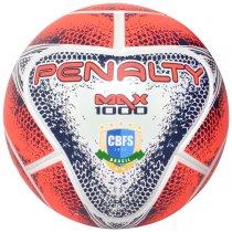 Imagem - Bola Futsal Penalty Max 1000 541483 Azul/Branco/Coral - 226602
