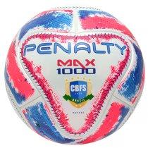 Imagem - Bola Futsal Penalty Max 1000 IX 5415441565 Branco/Rosa/Azul - 235154