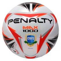 Imagem - Bola Futsal Penalty Max 1000 X 541591 Branco/Preto/Laranja - 248630