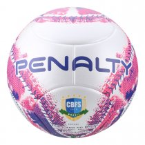 Imagem - Bola Futsal Penalty Max 400 IX 521251165 Branco/Rosa - 237675