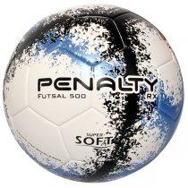 Imagem - Bola Futsal Penalty RX 500 R3 Fusion 5203091 Branco/Azul/Preto - 220739