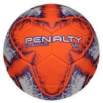 Imagem - Bola Futsal Penalty S11 R6 IX 511309 Branco/Laranja - 238187