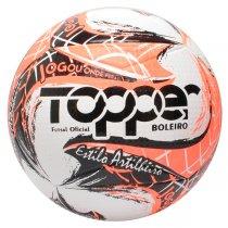 Imagem - Bola Futsal Topper Boleiro 5157 Vermelho Neon/Preto - 249087