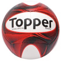 Imagem - Bola Futsal Topper Slick 2 4201882 Vermelho/Preto/Branco - 232434