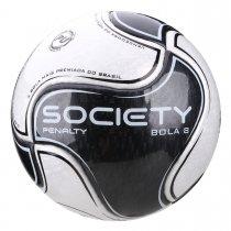 Imagem - Bola Society Penalty 8 IX 5415501110 Branco/Preto - 237673