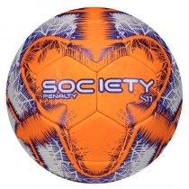 Imagem - Bola Society Penalty S11 R4 IX 5115401712 Roxo/Branco/Laranja - 235157