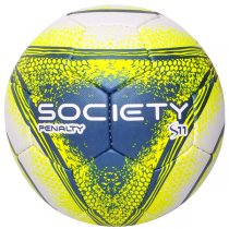 Imagem - Bola Society Penalty S11 R4 VIII 510842 Branco/Amarelo - 225664
