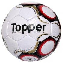 Imagem - Bola Society Topper Maestro Td2 4200142 Branco/Vermelho - 213365