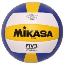 Imagem - Bola Vôlei Praia Mikasa VSO2000 Amarelo/Azul/Branco - 220824