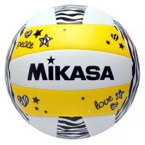Imagem - Bola Vôlei Mikasa VXS-ZB-Y Branco/Amarelo/Preto - 247786