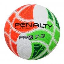 Imagem - Bola Vôlei Penalty 7.0 Pro IV 521180 Branco/Verde/Laranja - 194537