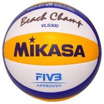 Imagem - Bola Vôlei Praia Mikasa VLS300 Azul/Amarelo/Branco - 220829