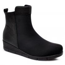 Imagem - Bota Ankle Boot Joanete Usaflex AD0503DE Lycra Preto - 017030502860001